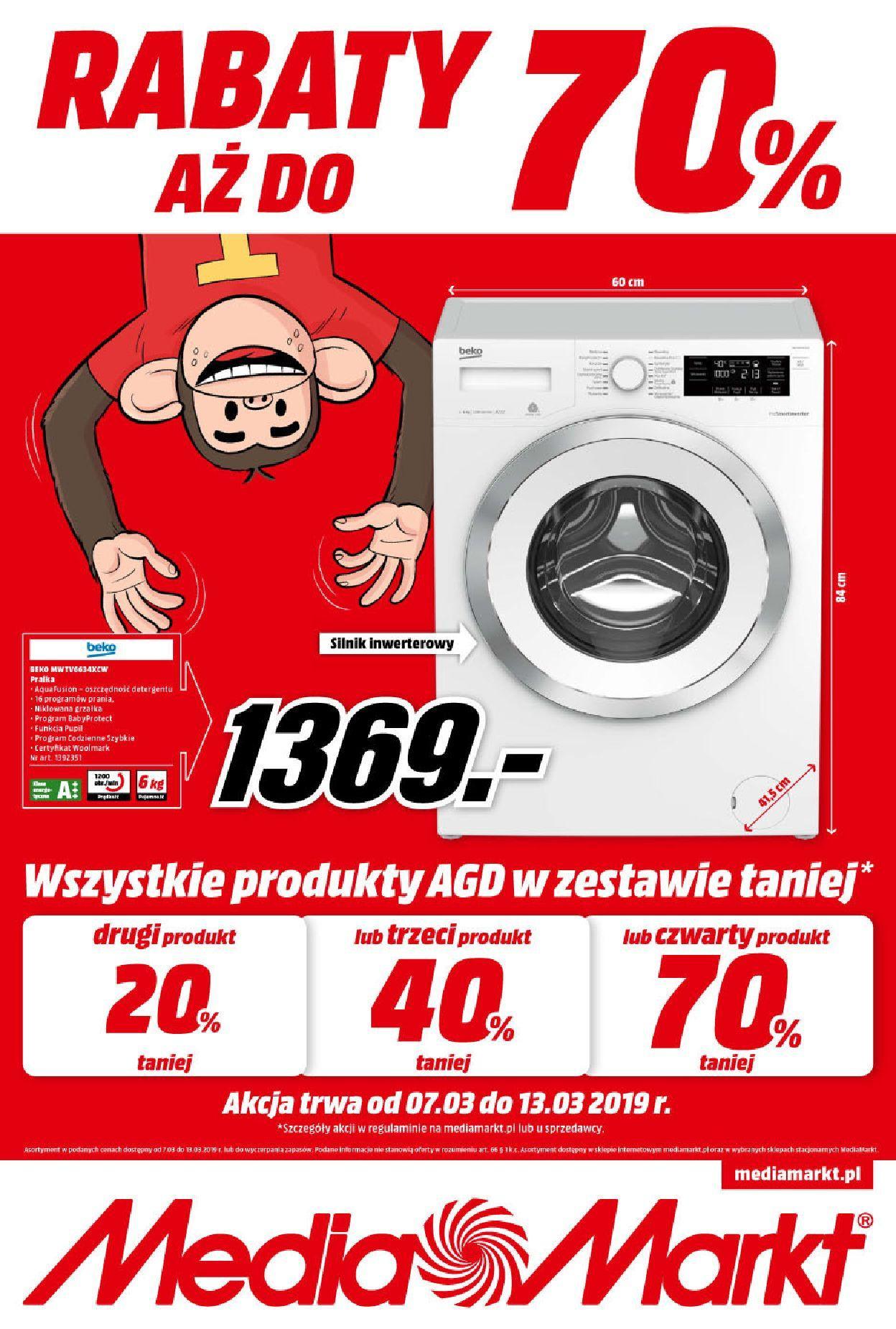 Gazetka promocyjna Media Markt do 13/03/2019 str.0
