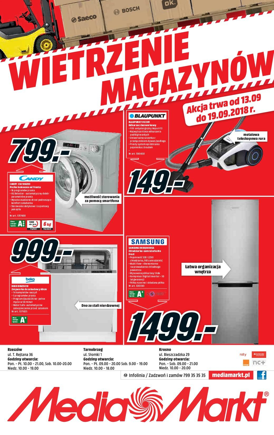 Gazetka promocyjna Media Markt do 19/09/2018 str.4