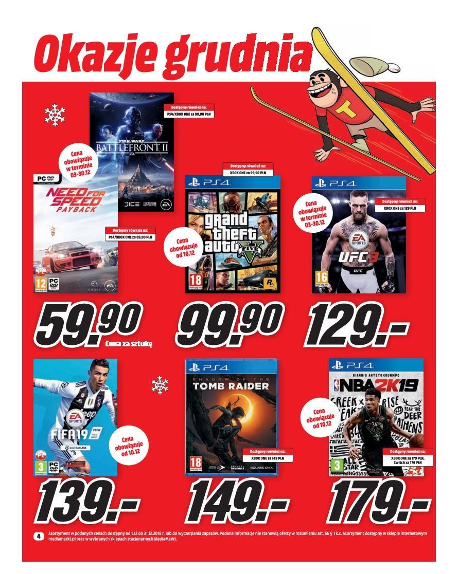Gazetka promocyjna Media Markt do 31/12/2018 str.4