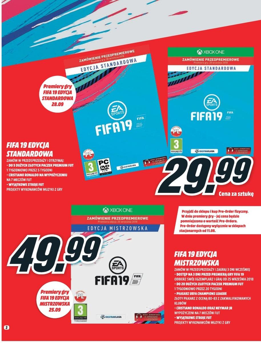 Gazetka promocyjna Media Markt do 08/08/2018 str.2