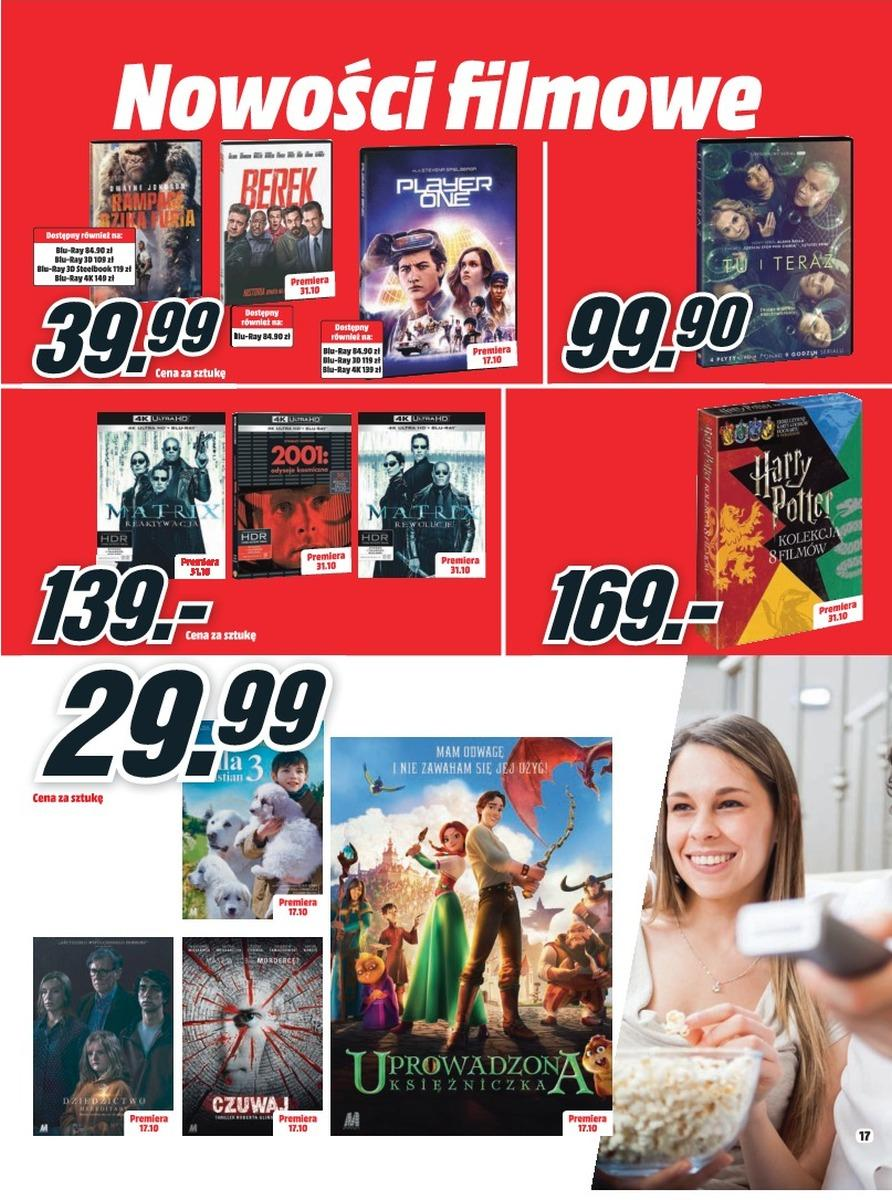 Gazetka promocyjna Media Markt do 31/10/2018 str.17