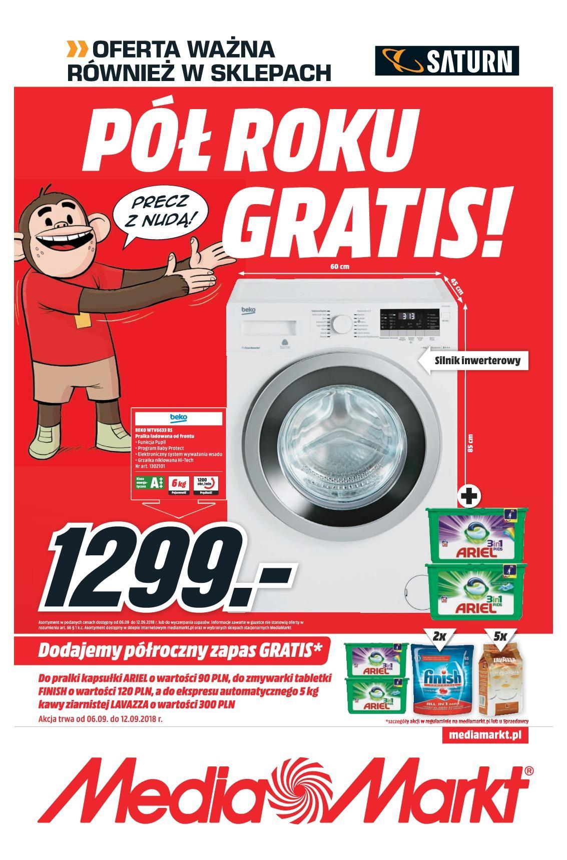 Gazetka promocyjna Media Markt do 12/09/2018 str.0