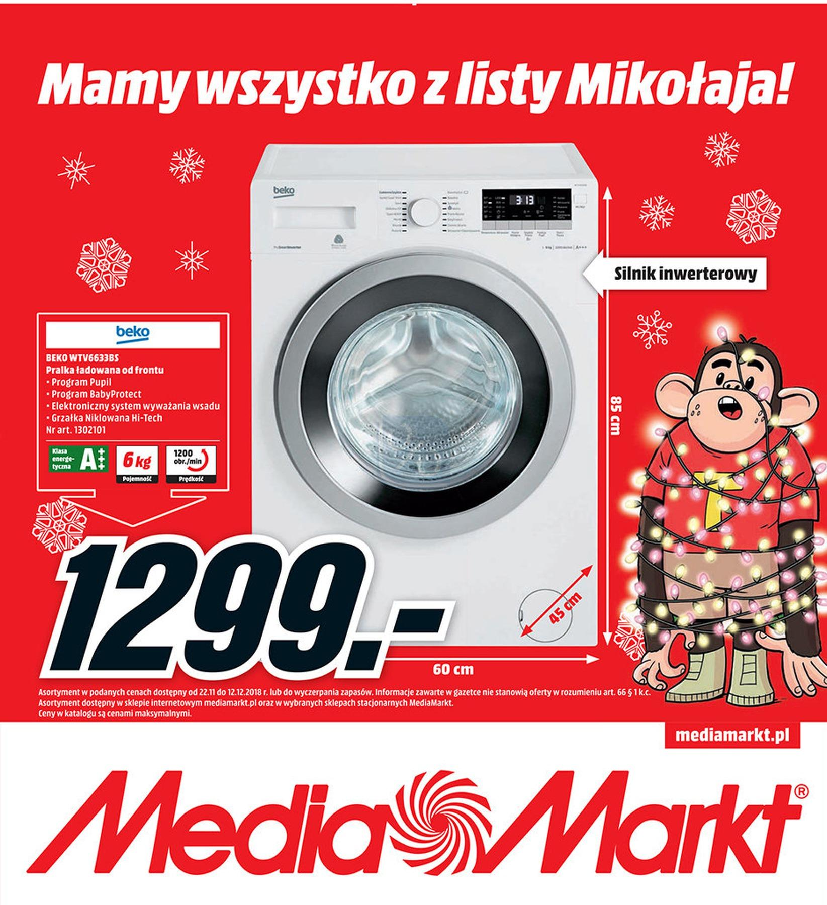 Gazetka promocyjna Media Markt do 12/12/2018 str.0