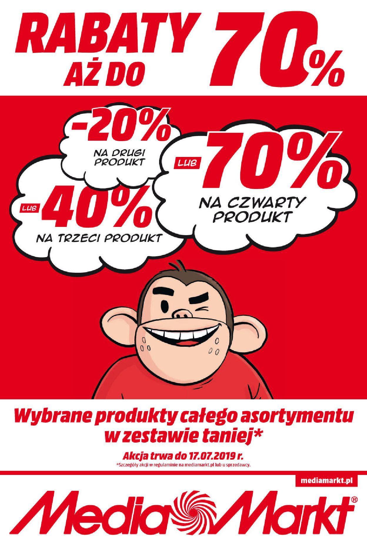 Gazetka promocyjna Media Markt do 17/07/2019 str.0
