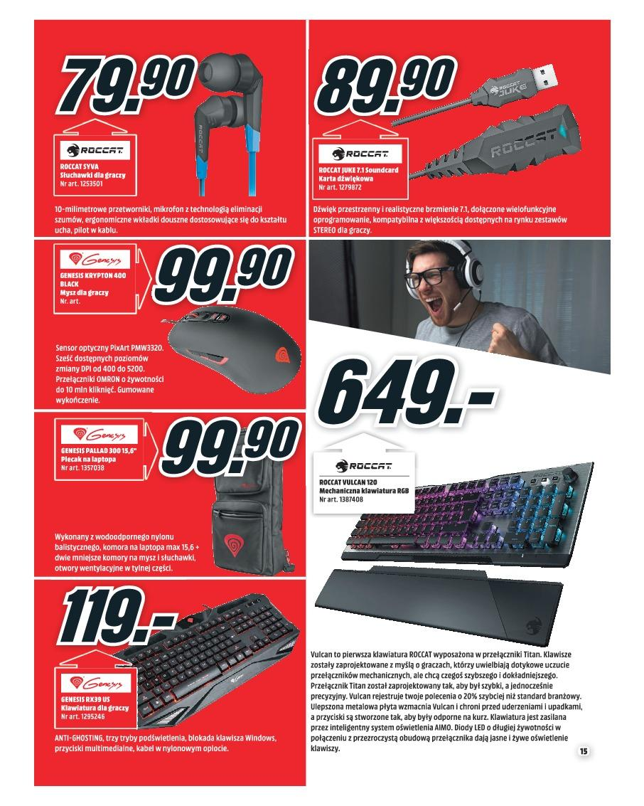 Gazetka promocyjna Media Markt do 30/11/2018 str.15