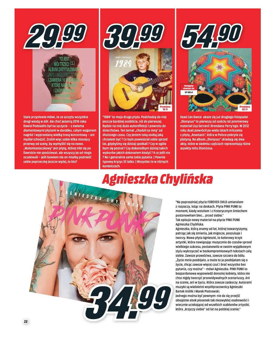Gazetka promocyjna Media Markt do 30/11/2018 str.22