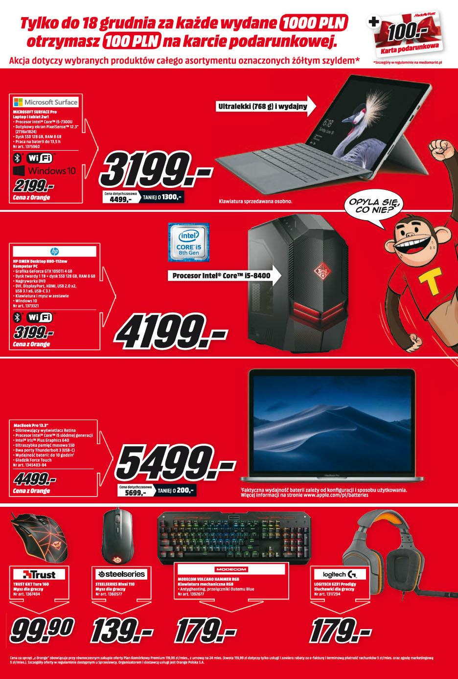 Gazetka promocyjna Media Markt do 24/12/2018 str.9