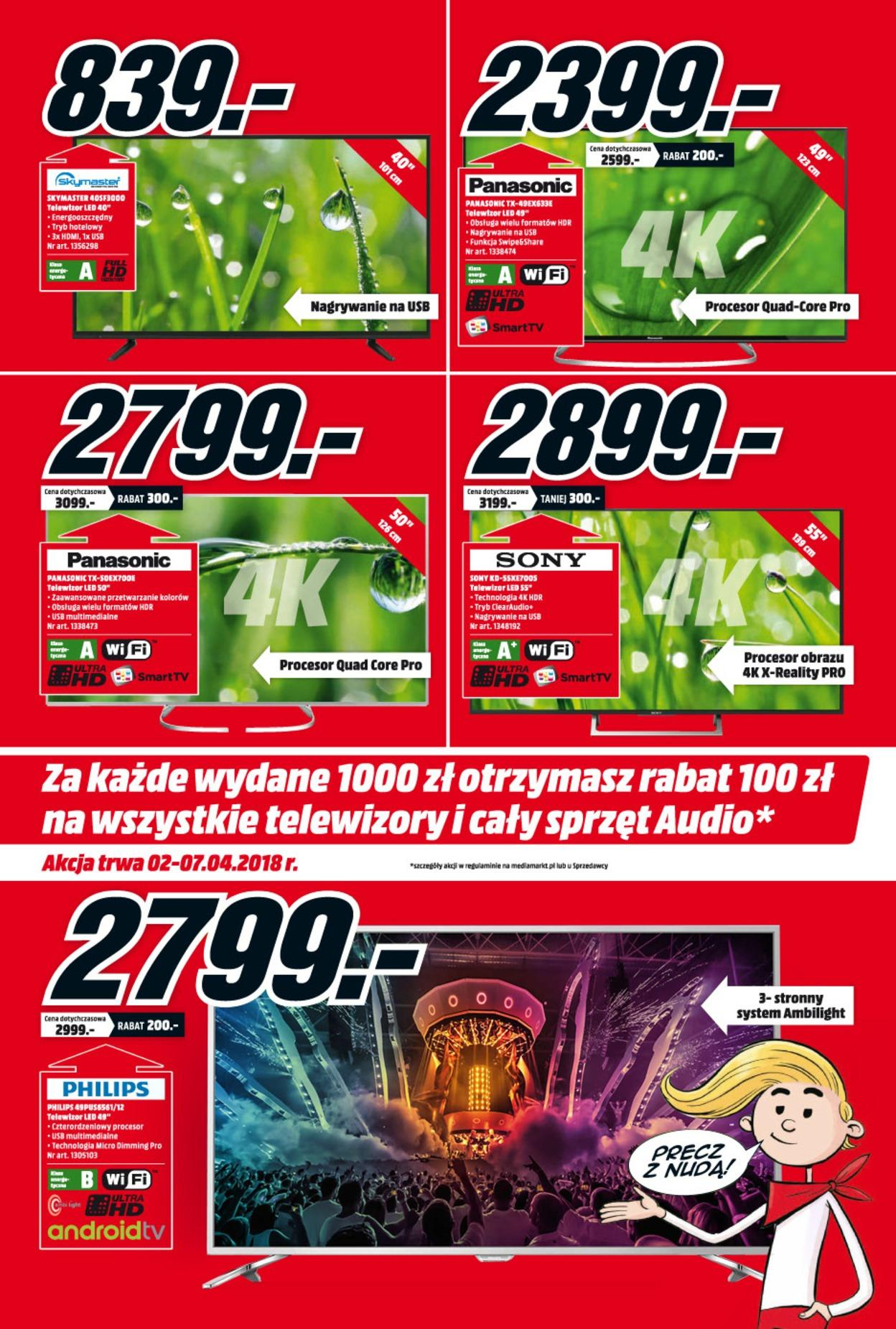 Gazetka promocyjna Media Markt do 07/04/2018 str.1