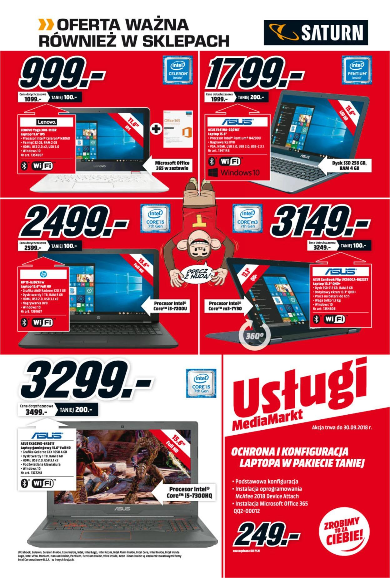 Gazetka promocyjna Media Markt do 25/07/2018 str.1