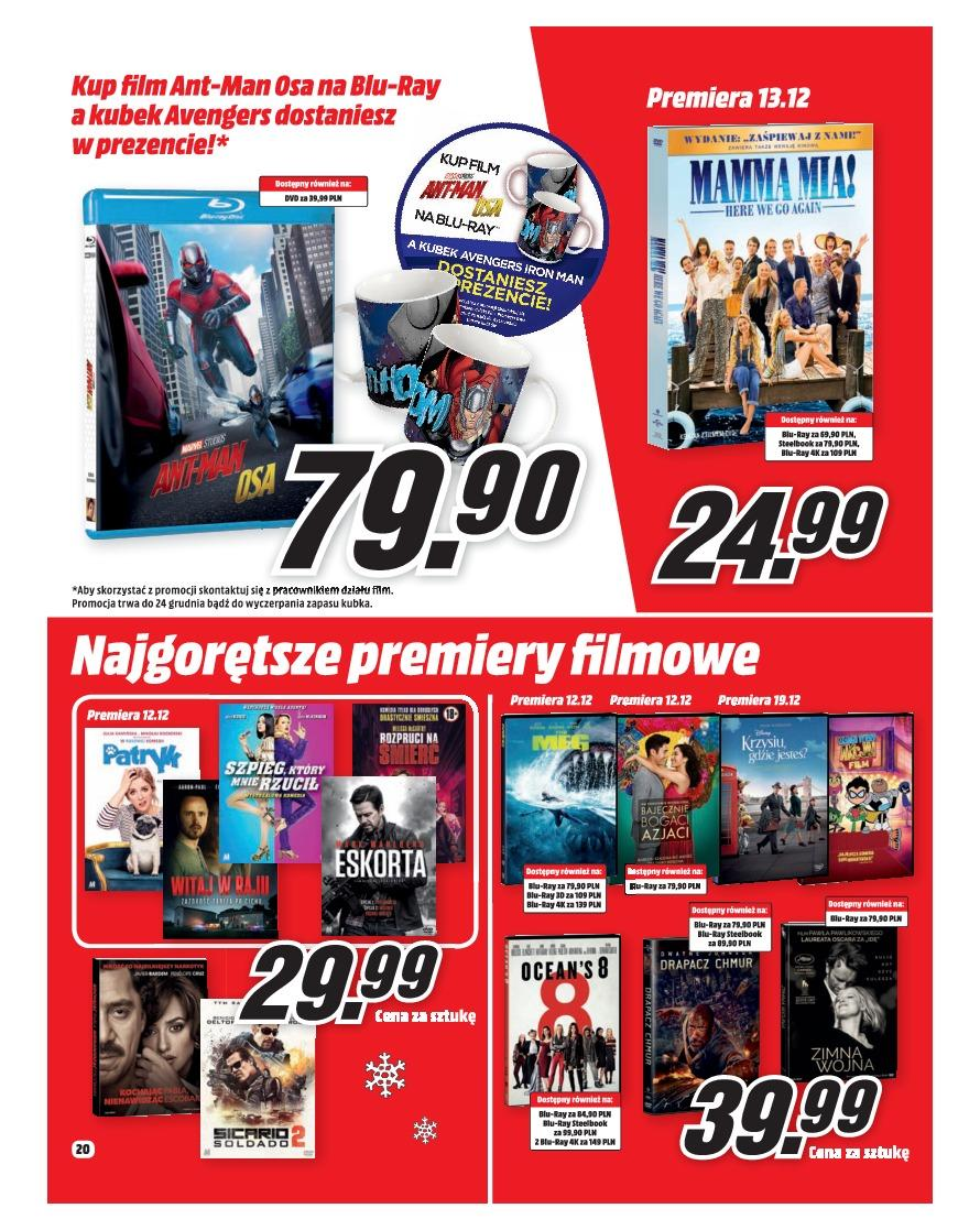 Gazetka promocyjna Media Markt do 31/12/2018 str.20