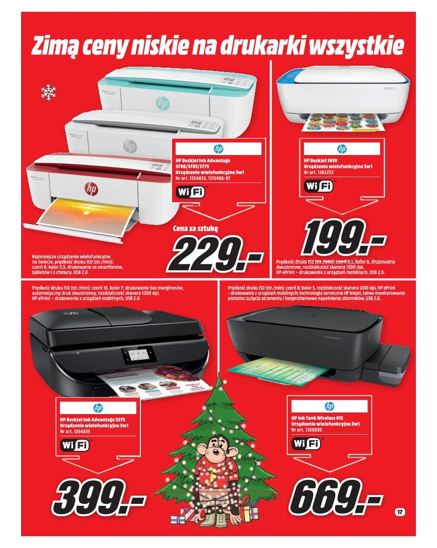 Gazetka promocyjna Media Markt do 31/12/2018 str.17