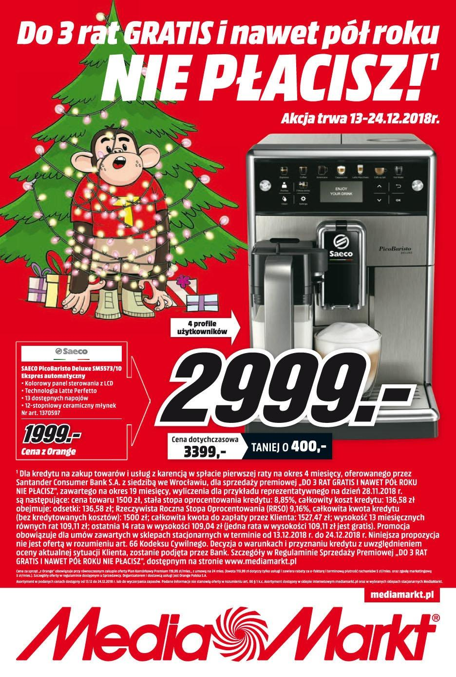 Gazetka promocyjna Media Markt do 24/12/2018 str.0