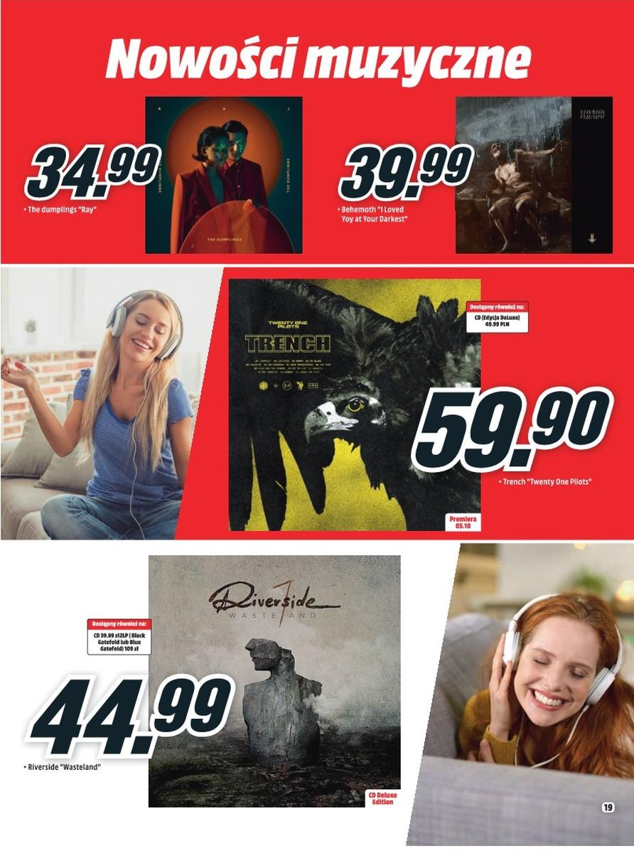 Gazetka promocyjna Media Markt do 31/10/2018 str.19