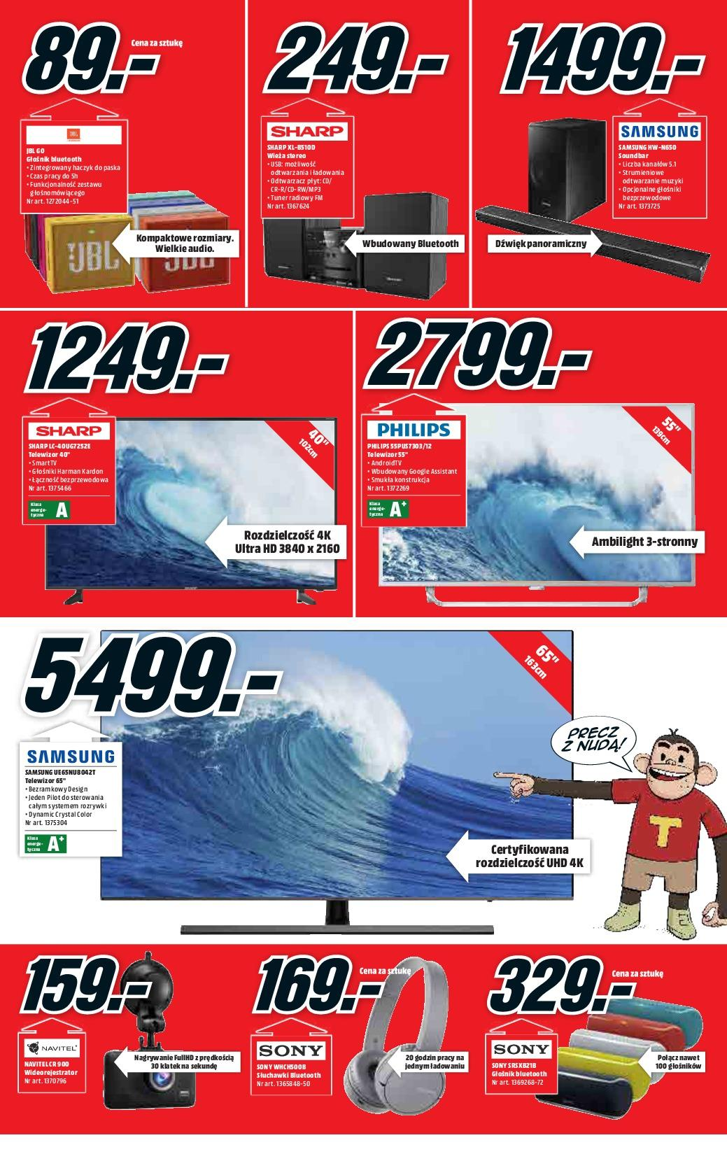 Gazetka promocyjna Media Markt do 19/09/2018 str.1