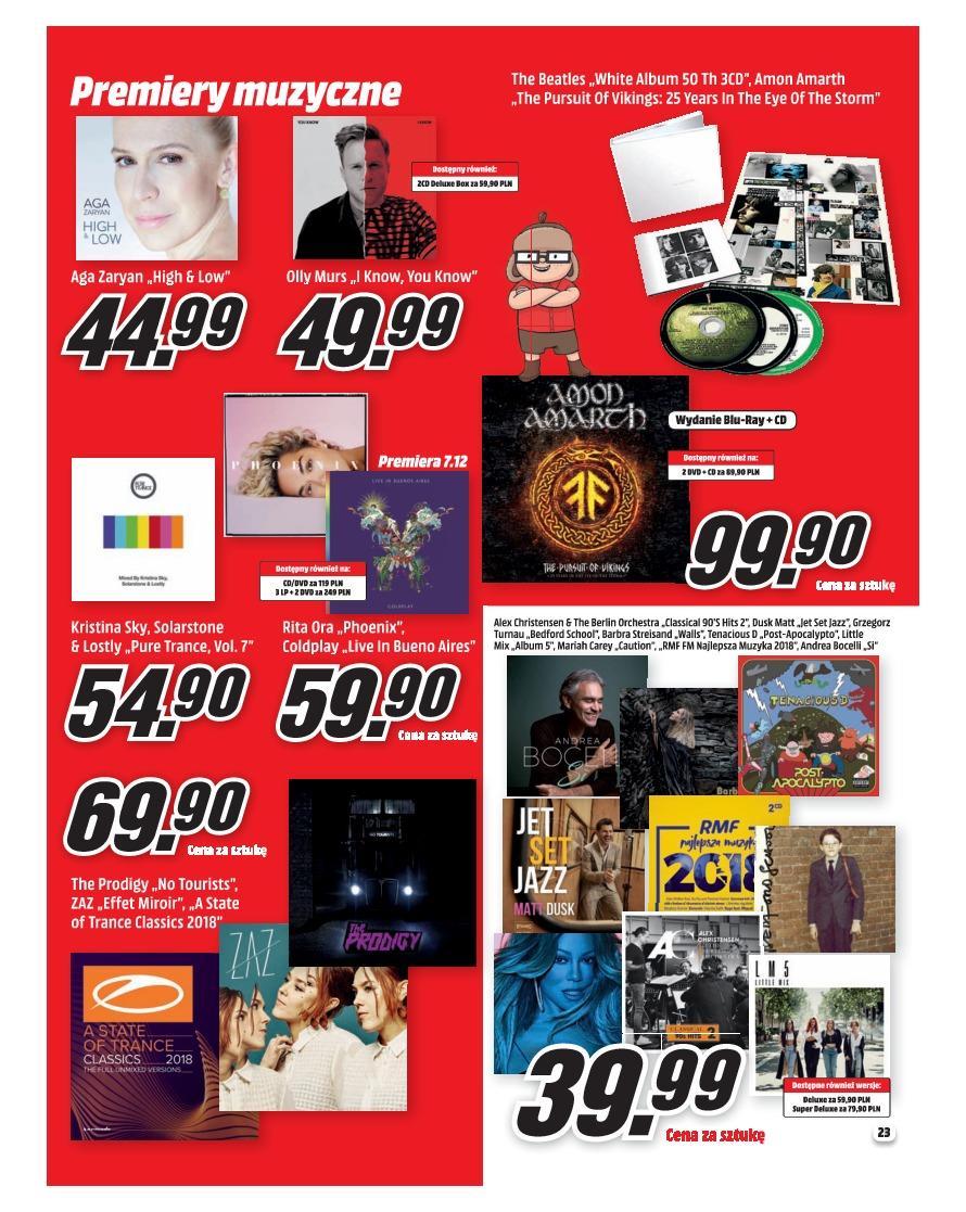 Gazetka promocyjna Media Markt do 31/12/2018 str.22