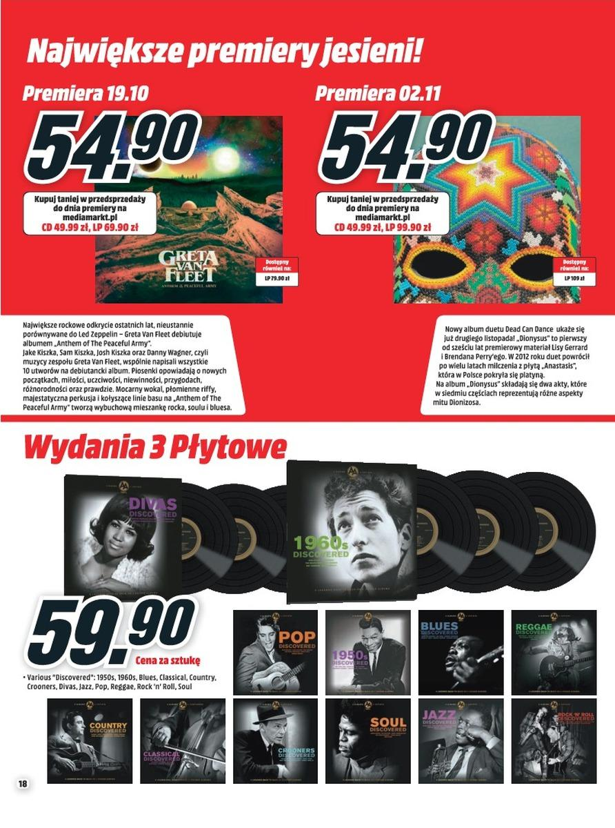 Gazetka promocyjna Media Markt do 31/10/2018 str.18