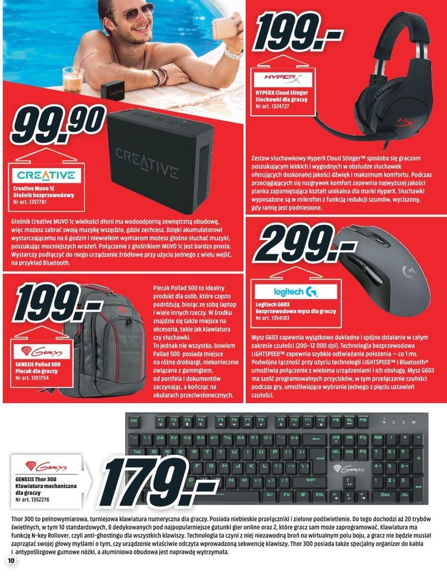 Gazetka promocyjna Media Markt do 08/08/2018 str.10