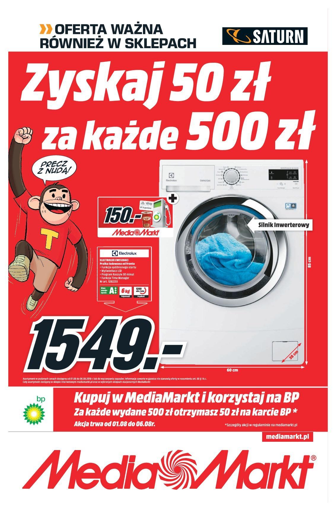 Gazetka promocyjna Media Markt do 06/08/2018 str.0