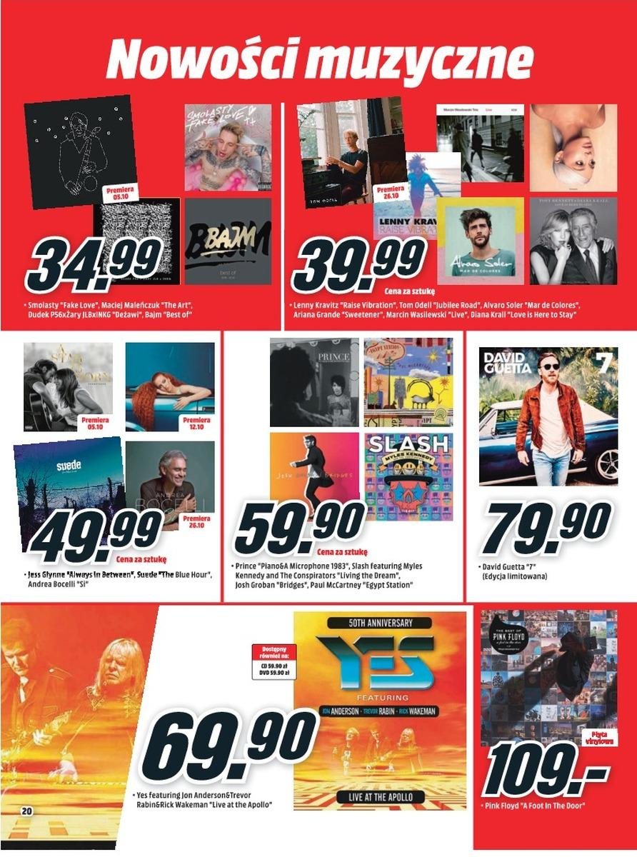 Gazetka promocyjna Media Markt do 31/10/2018 str.20
