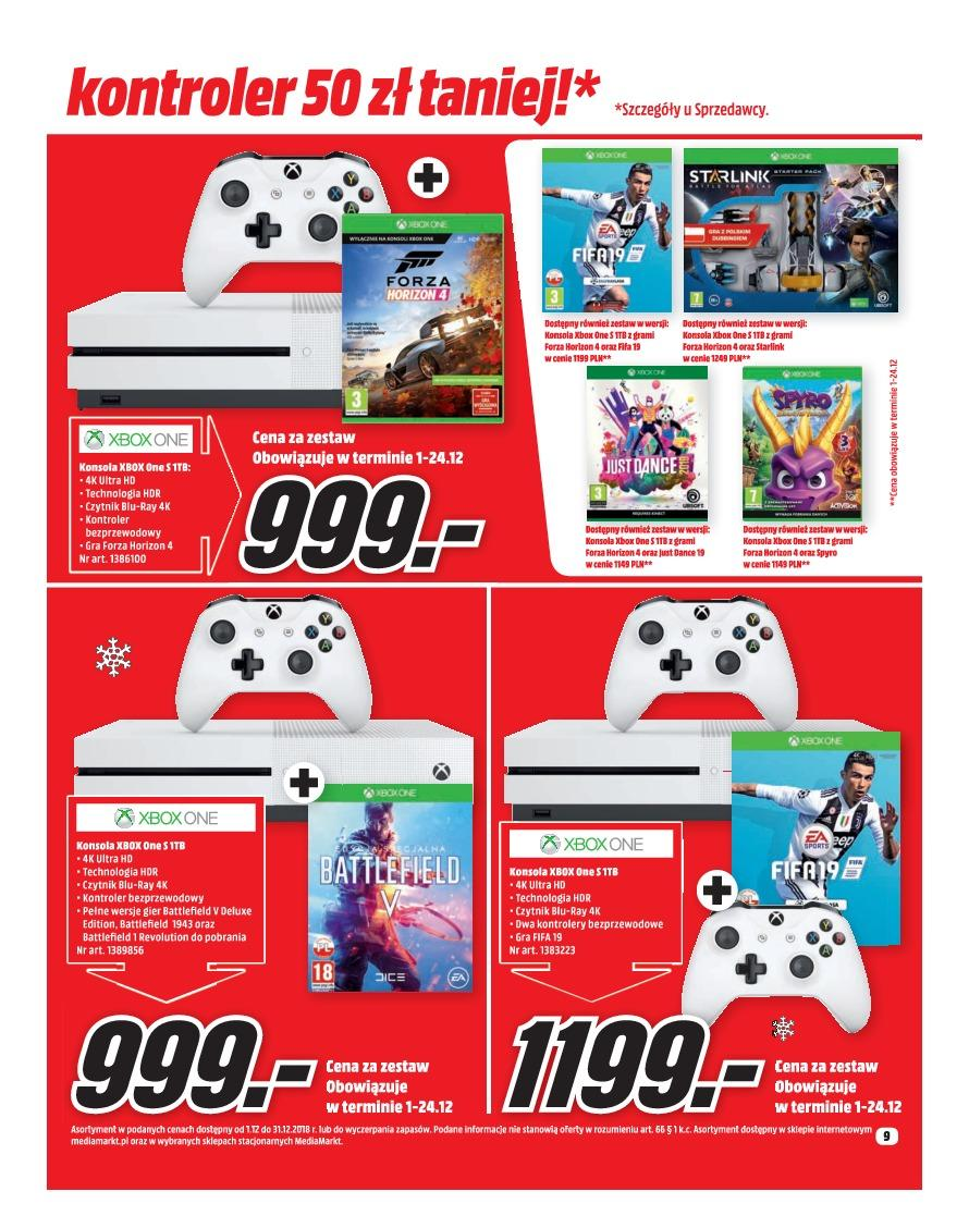 Gazetka promocyjna Media Markt do 31/12/2018 str.9