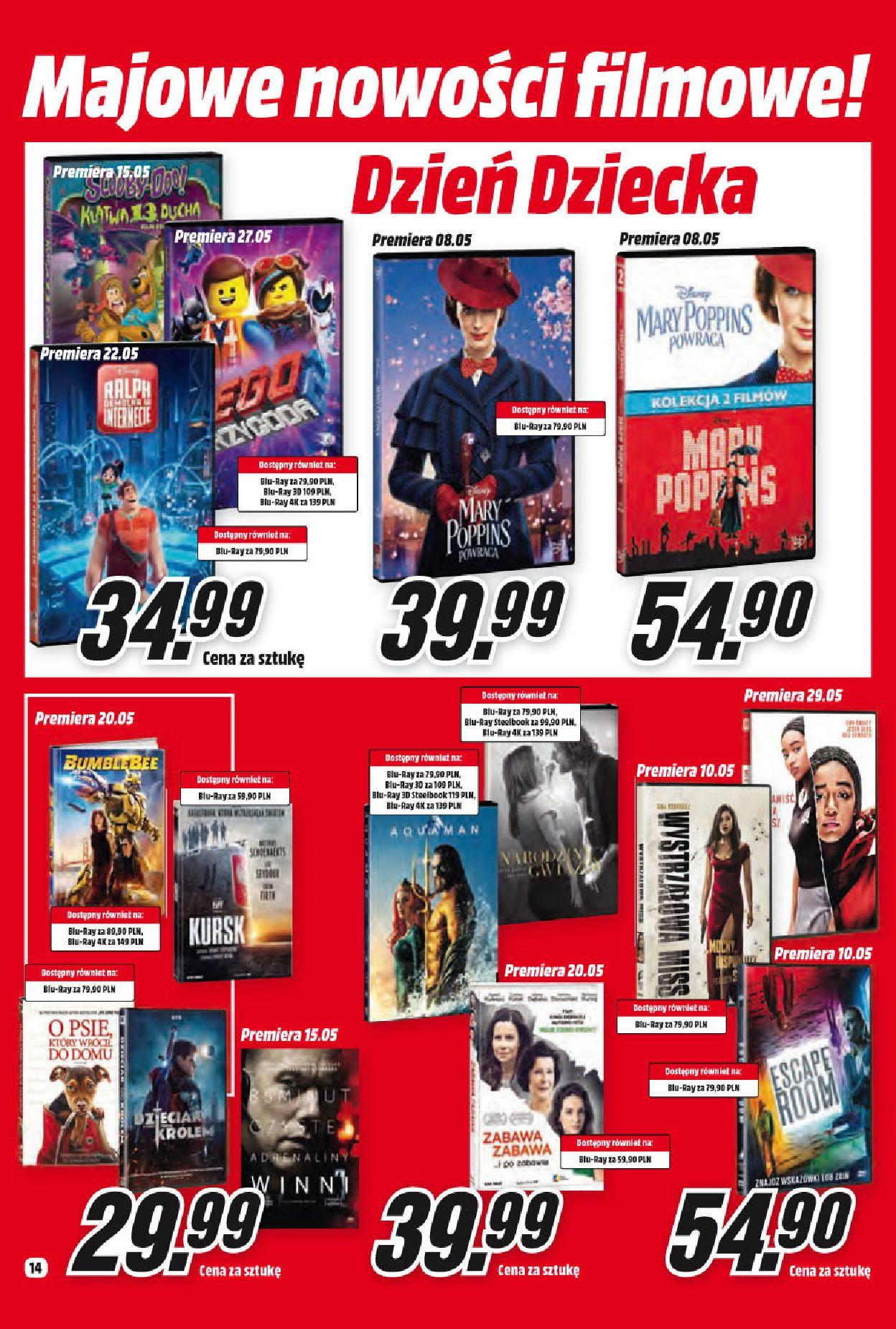Gazetka promocyjna Media Markt do 31/05/2019 str.14