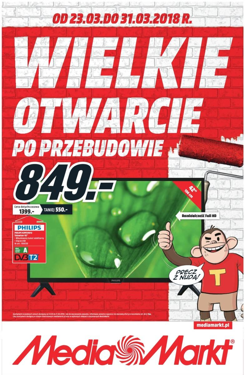 Gazetka promocyjna Media Markt do 31/03/2018 str.0