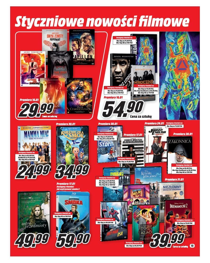 Gazetka promocyjna Media Markt do 31/01/2019 str.13