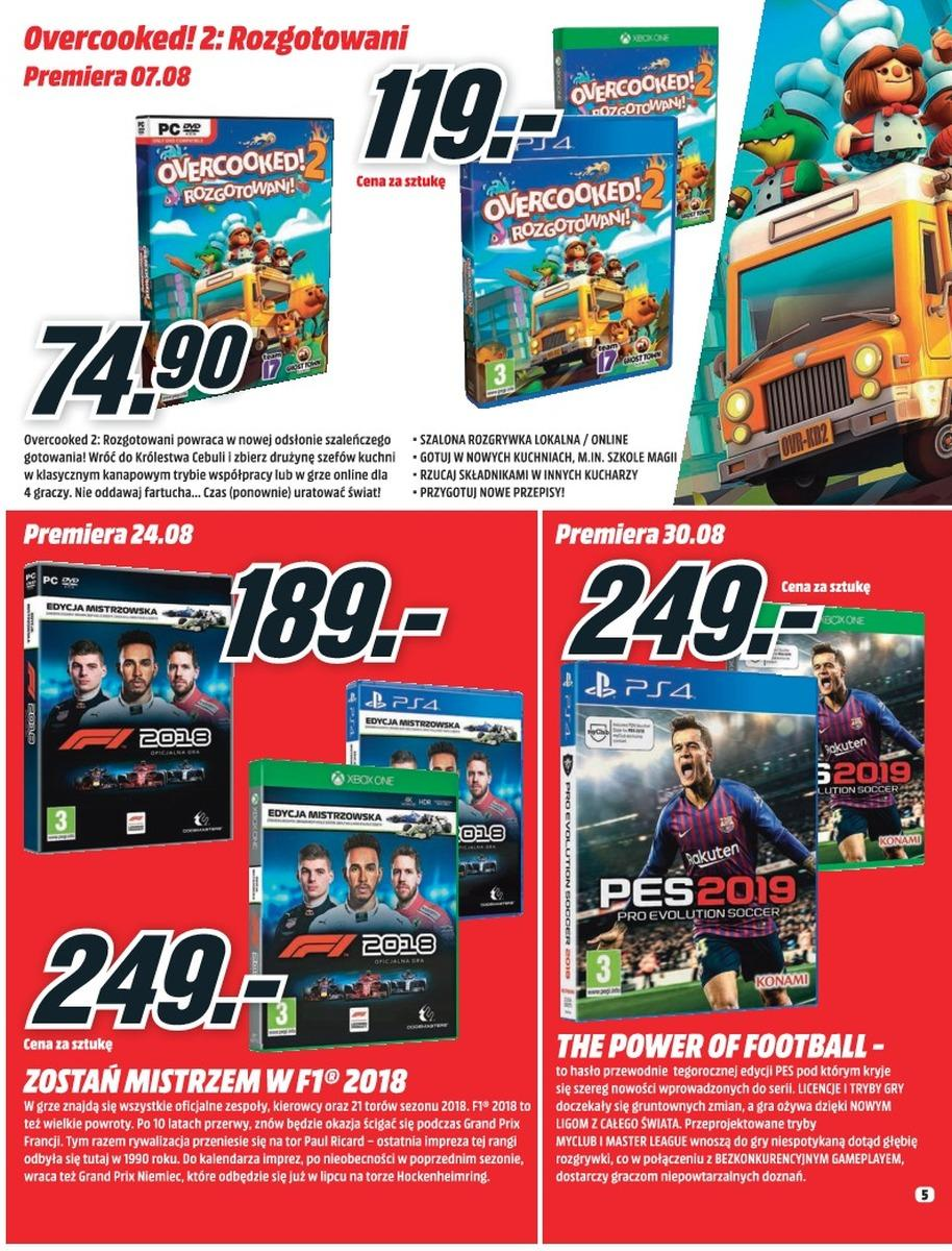 Gazetka promocyjna Media Markt do 08/08/2018 str.4