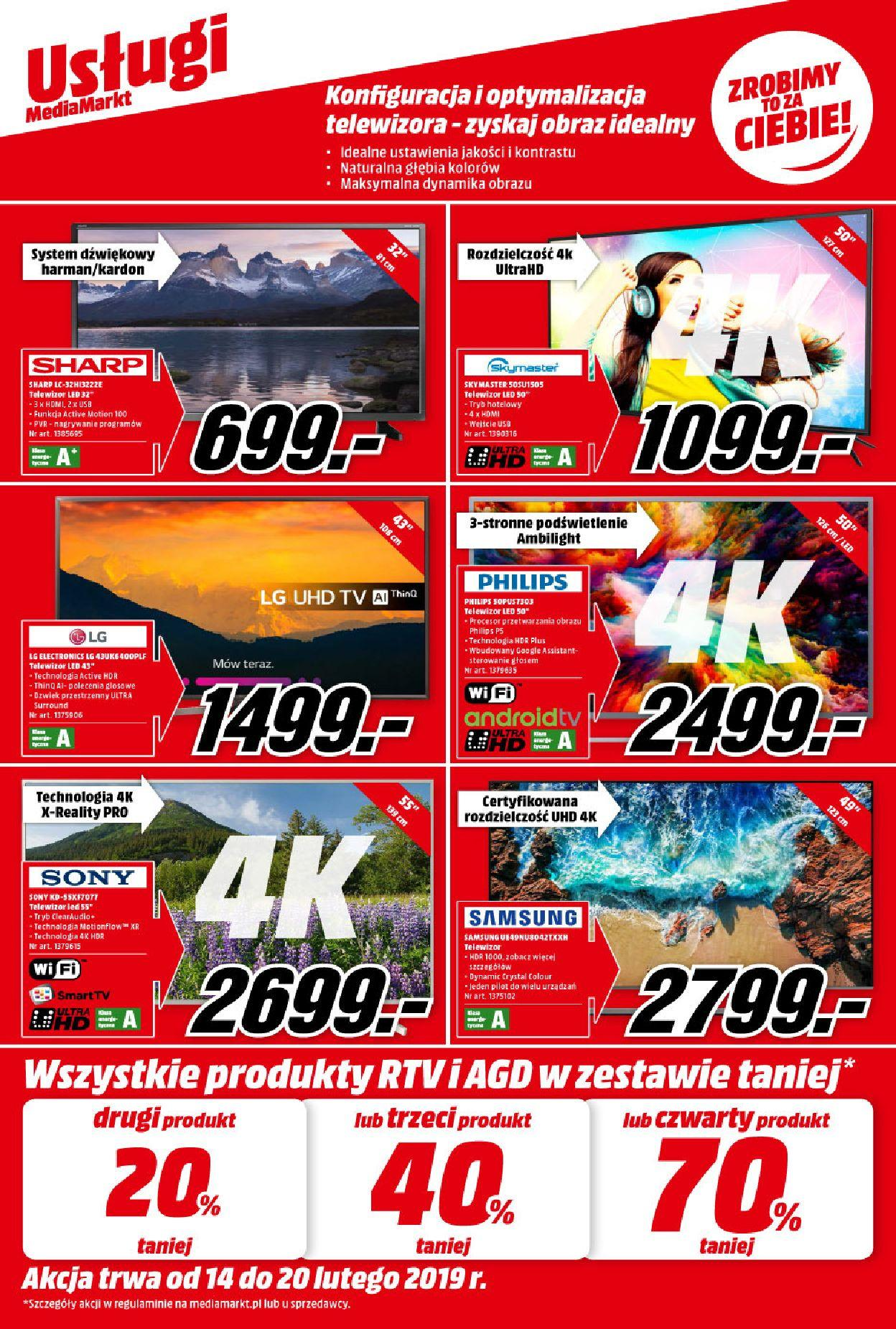 Gazetka promocyjna Media Markt do 20/02/2019 str.1