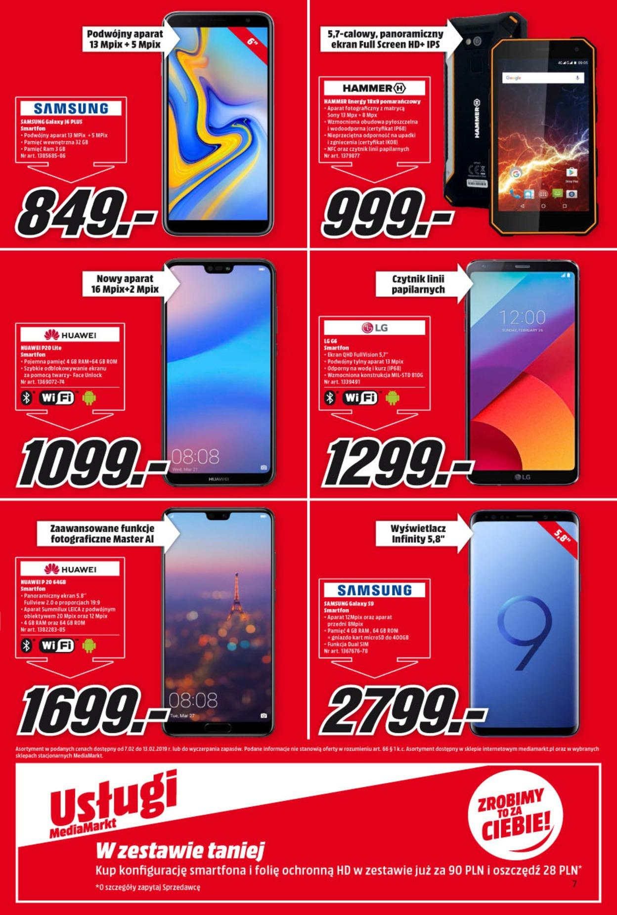 Gazetka promocyjna Media Markt do 13/02/2019 str.6