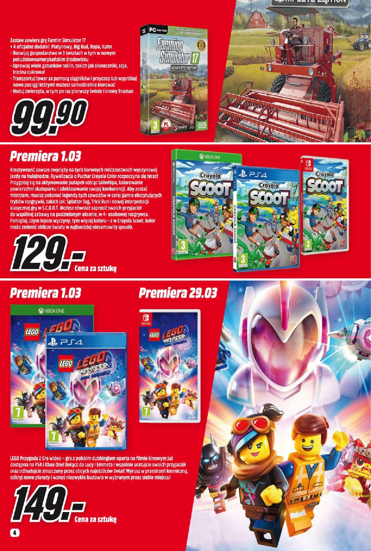 Gazetka promocyjna Media Markt do 31/03/2019 str.4