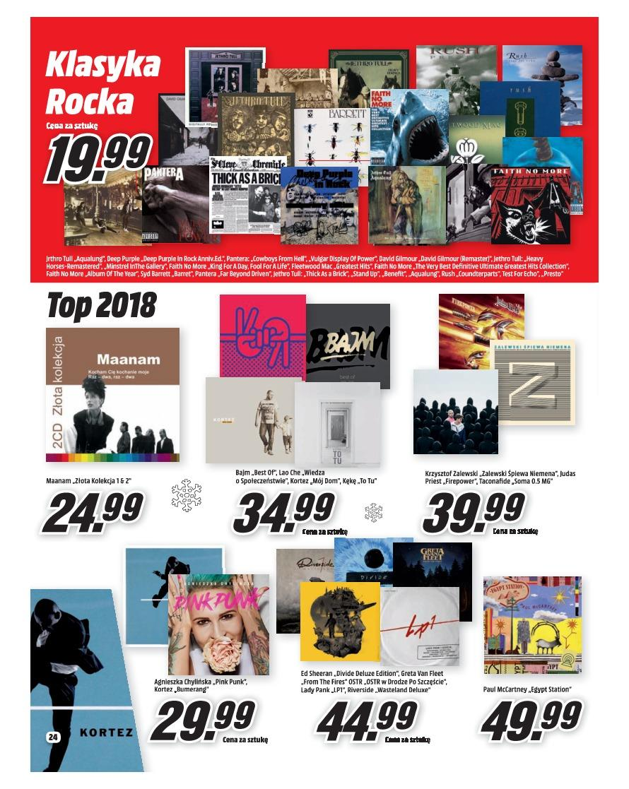Gazetka promocyjna Media Markt do 31/12/2018 str.24