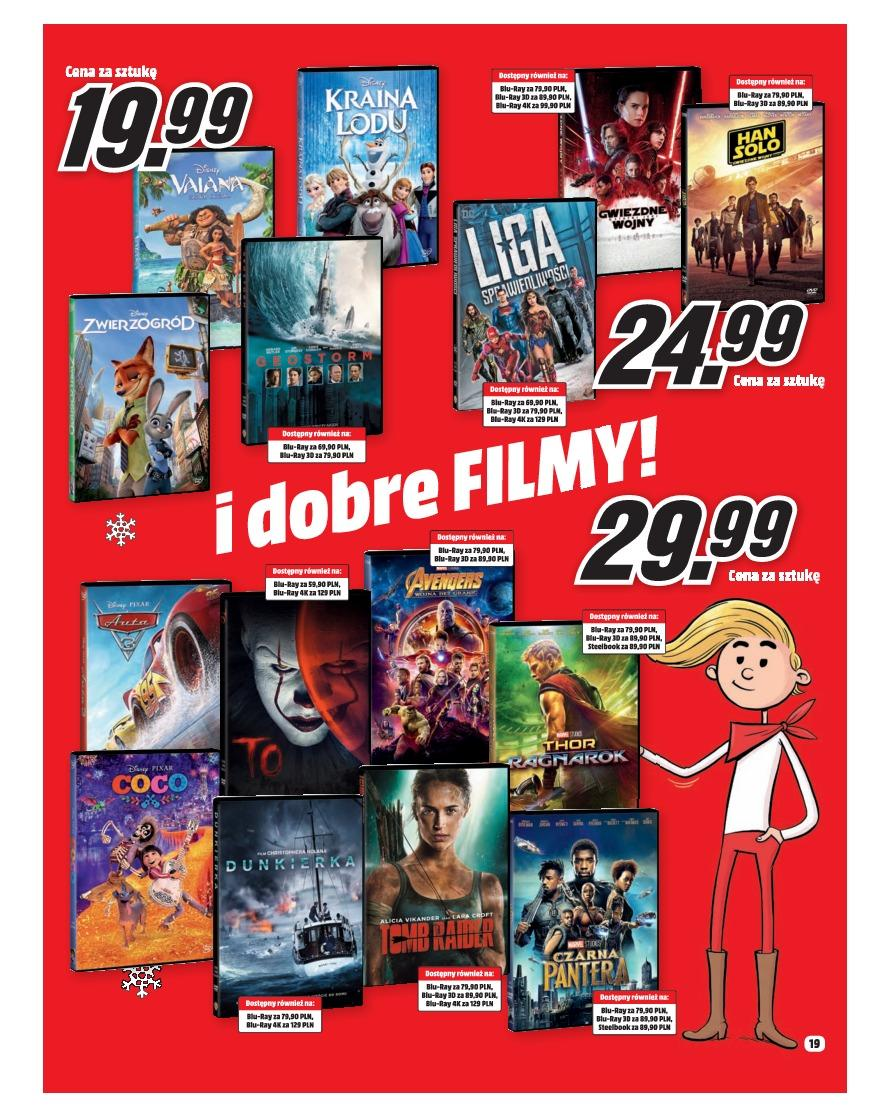 Gazetka promocyjna Media Markt do 31/12/2018 str.19