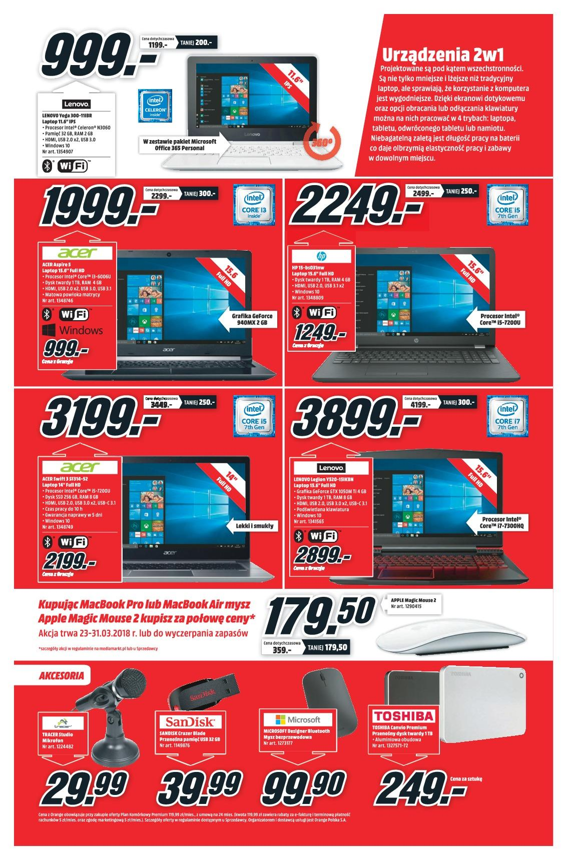 Gazetka promocyjna Media Markt do 31/03/2018 str.6