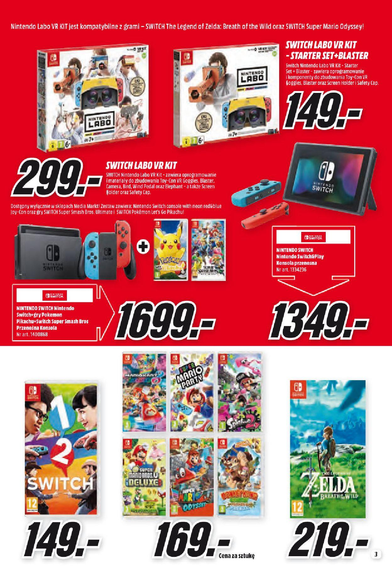 Gazetka promocyjna Media Markt do 31/05/2019 str.3