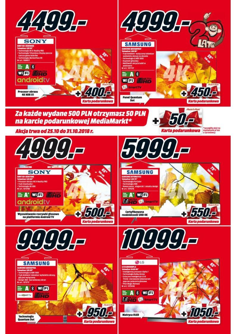 Gazetka promocyjna Media Markt do 31/10/2018 str.3