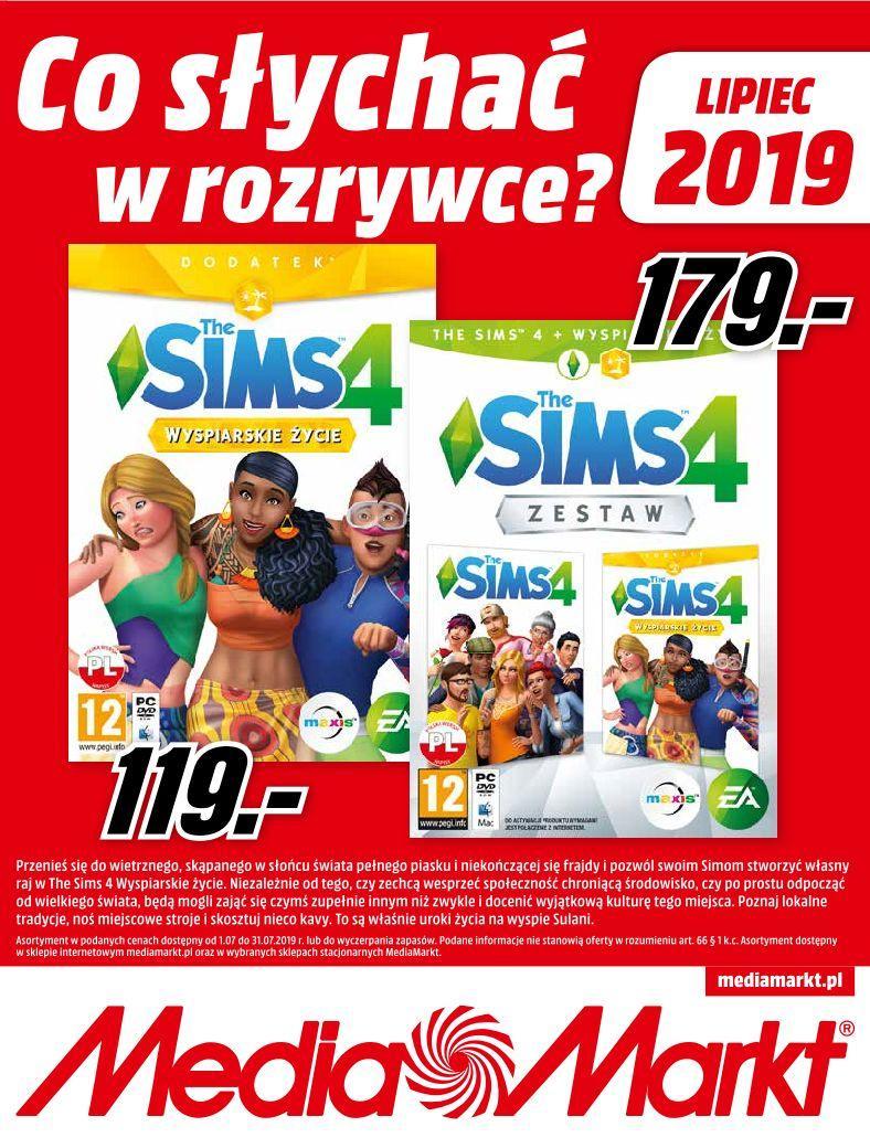 Gazetka promocyjna Media Markt do 31/07/2019 str.0