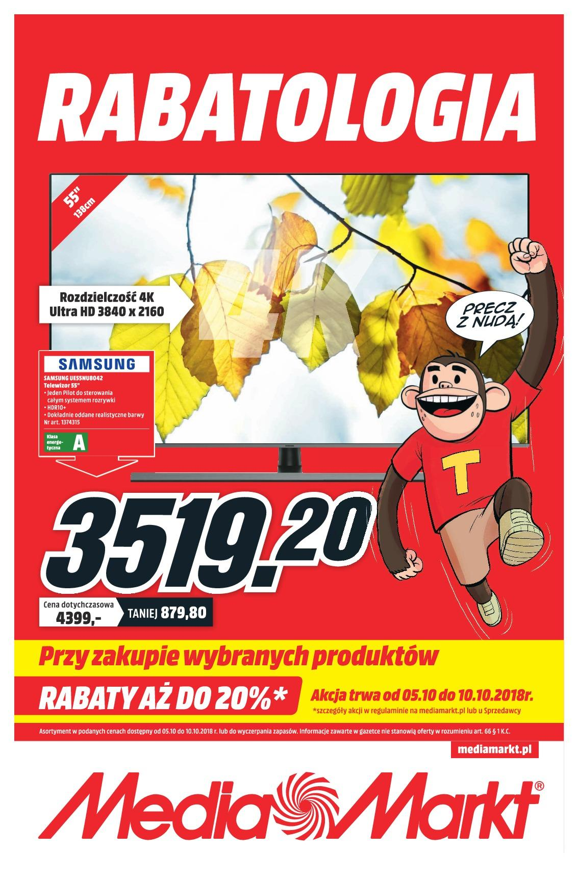 Gazetka promocyjna Media Markt do 10/10/2018 str.1