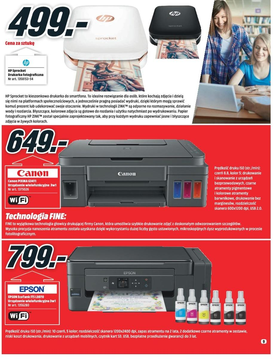 Gazetka promocyjna Media Markt do 08/08/2018 str.9