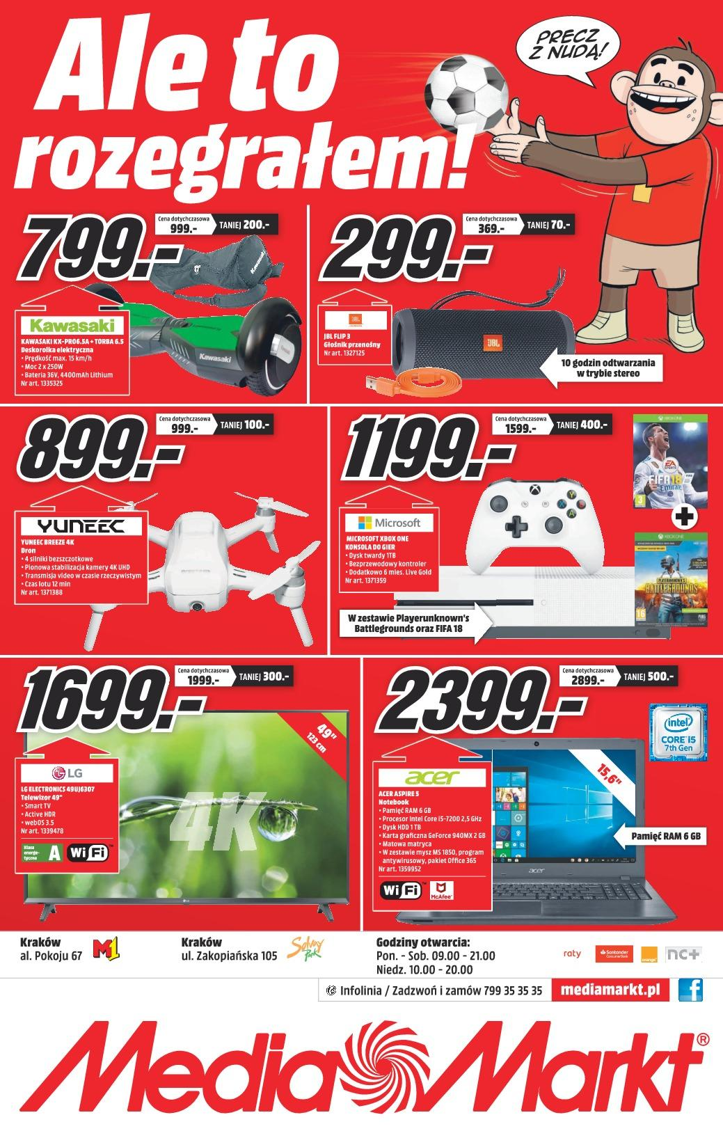 Gazetka promocyjna Media Markt do 25/05/2018 str.0
