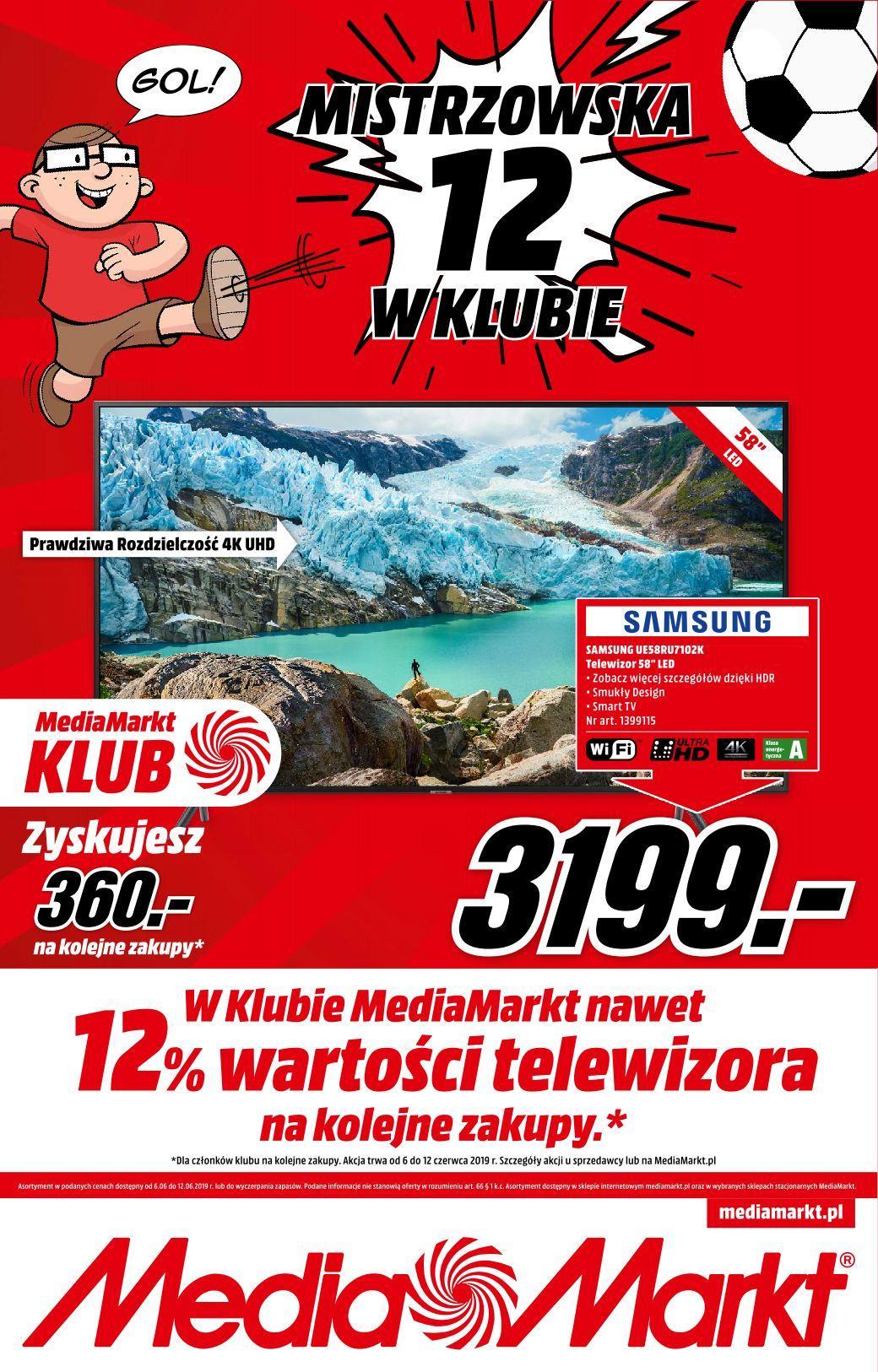 Gazetka promocyjna Media Markt do 12/06/2019 str.0