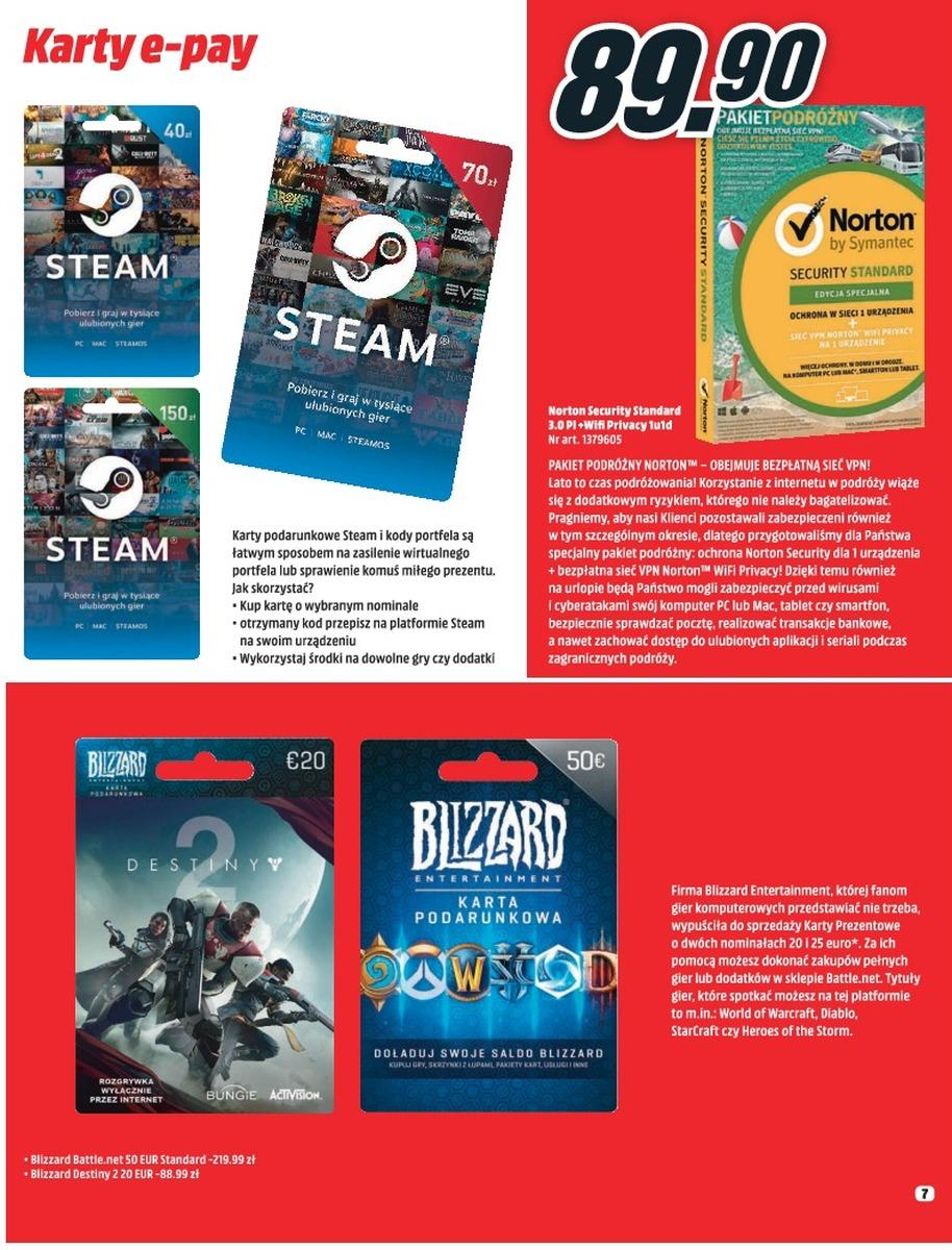 Gazetka promocyjna Media Markt do 08/08/2018 str.6