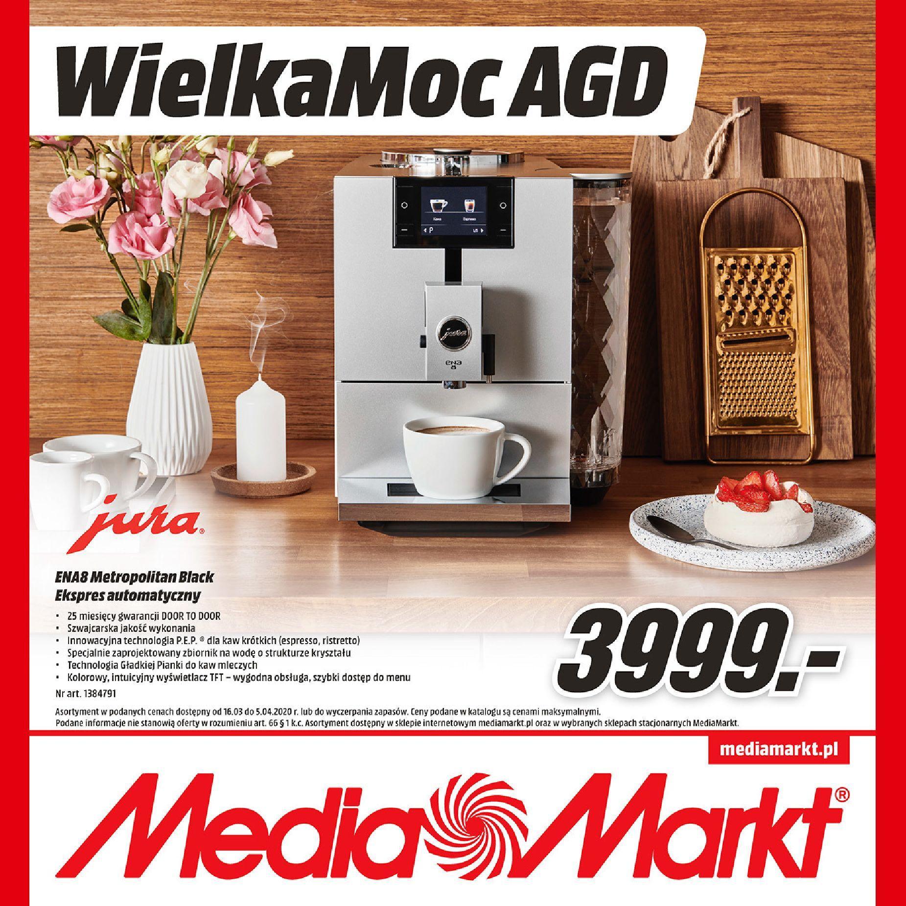 Gazetka promocyjna Media Markt do 05/04/2020 str.0
