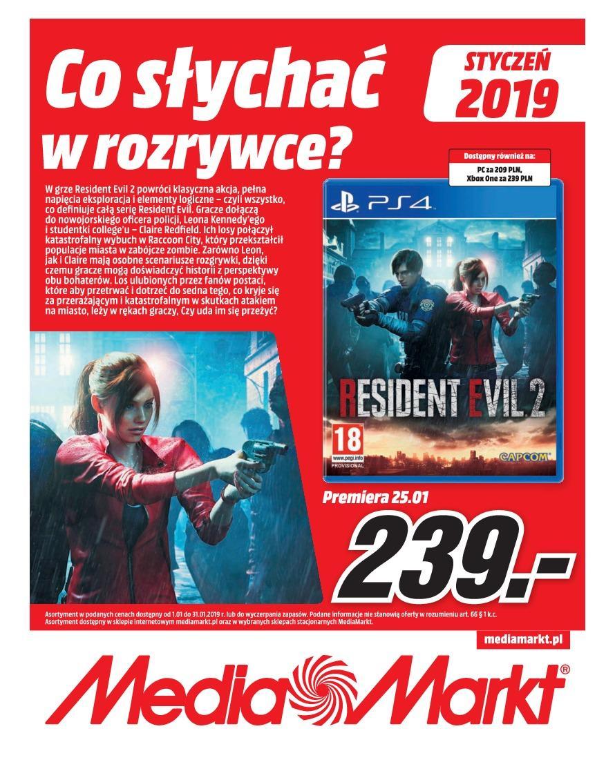 Gazetka promocyjna Media Markt do 31/01/2019 str.1