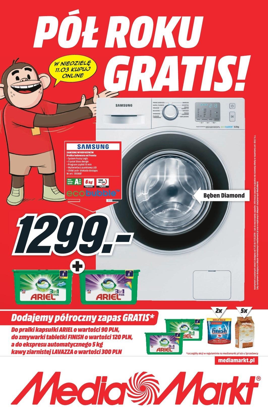 Gazetka promocyjna Media Markt do 17/03/2018 str.0