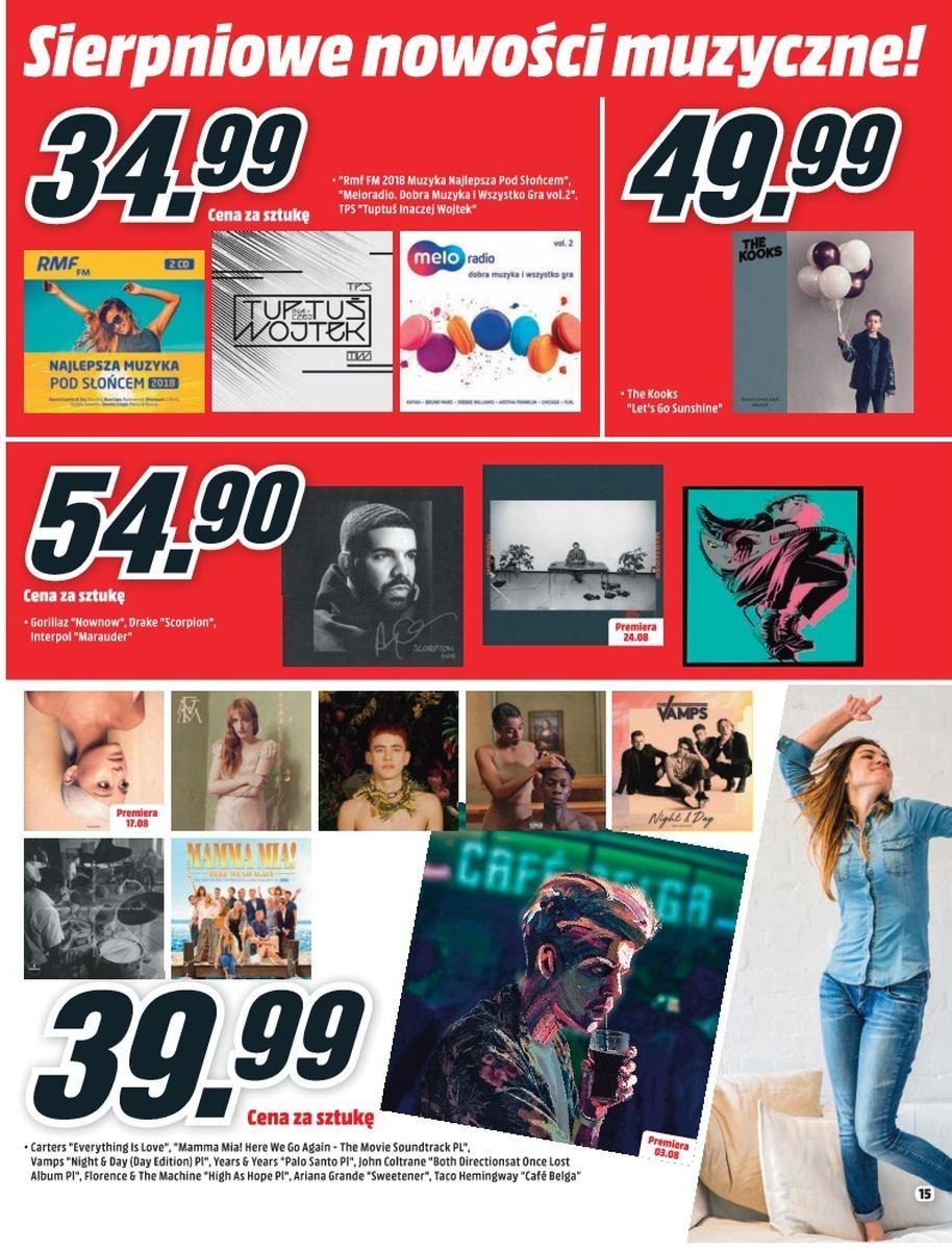 Gazetka promocyjna Media Markt do 08/08/2018 str.14