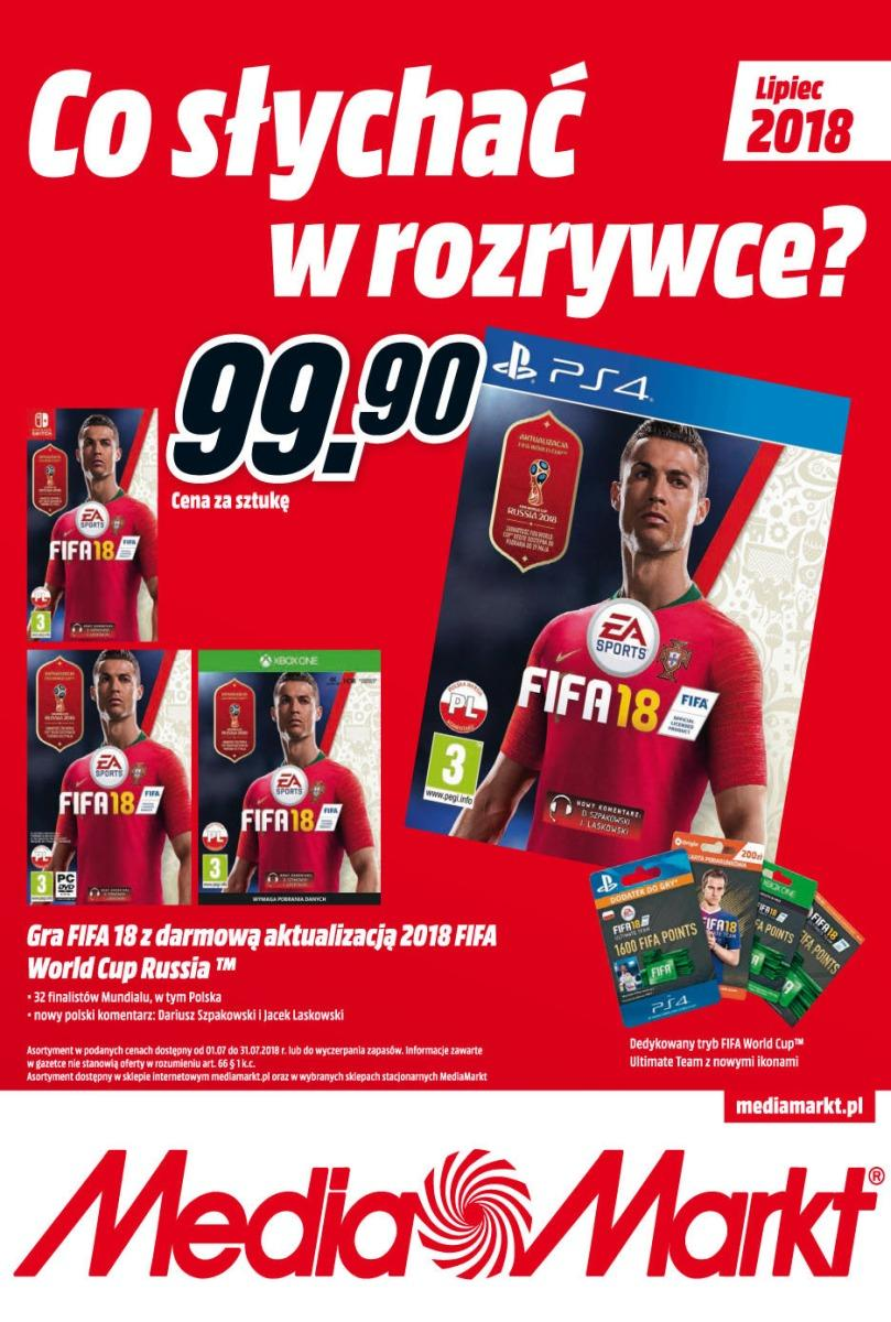 Gazetka promocyjna Media Markt do 31/07/2018 str.1
