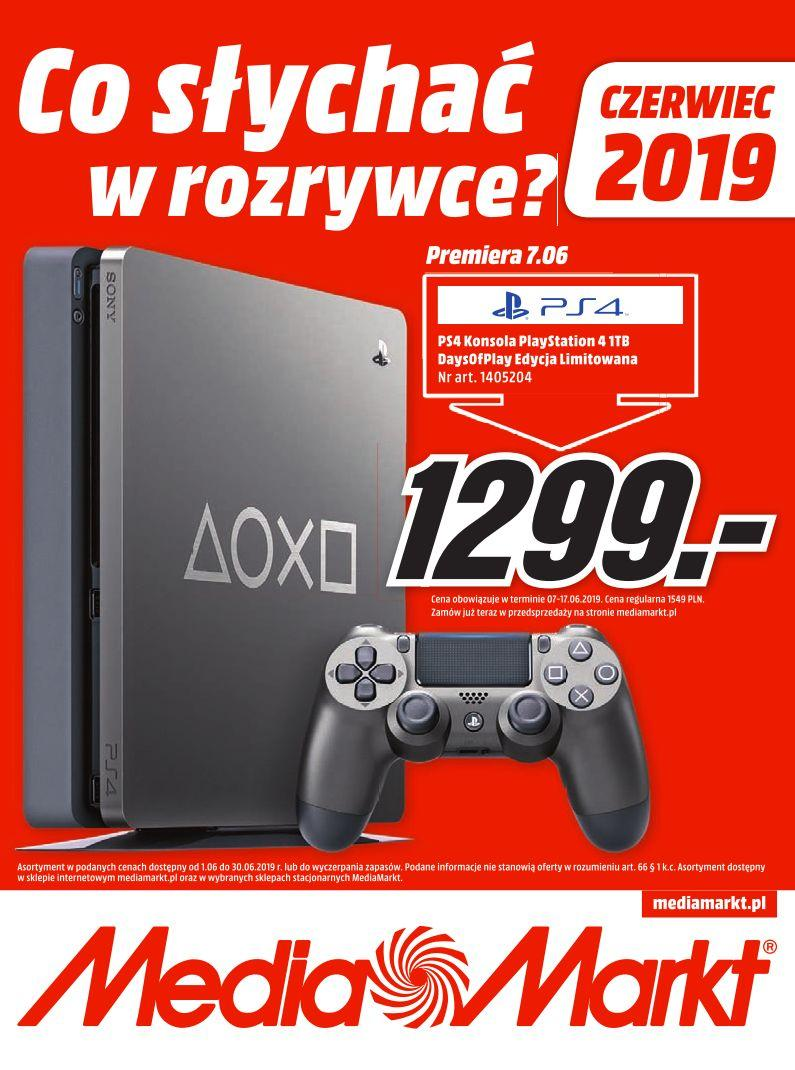 Gazetka promocyjna Media Markt do 30/06/2019 str.0