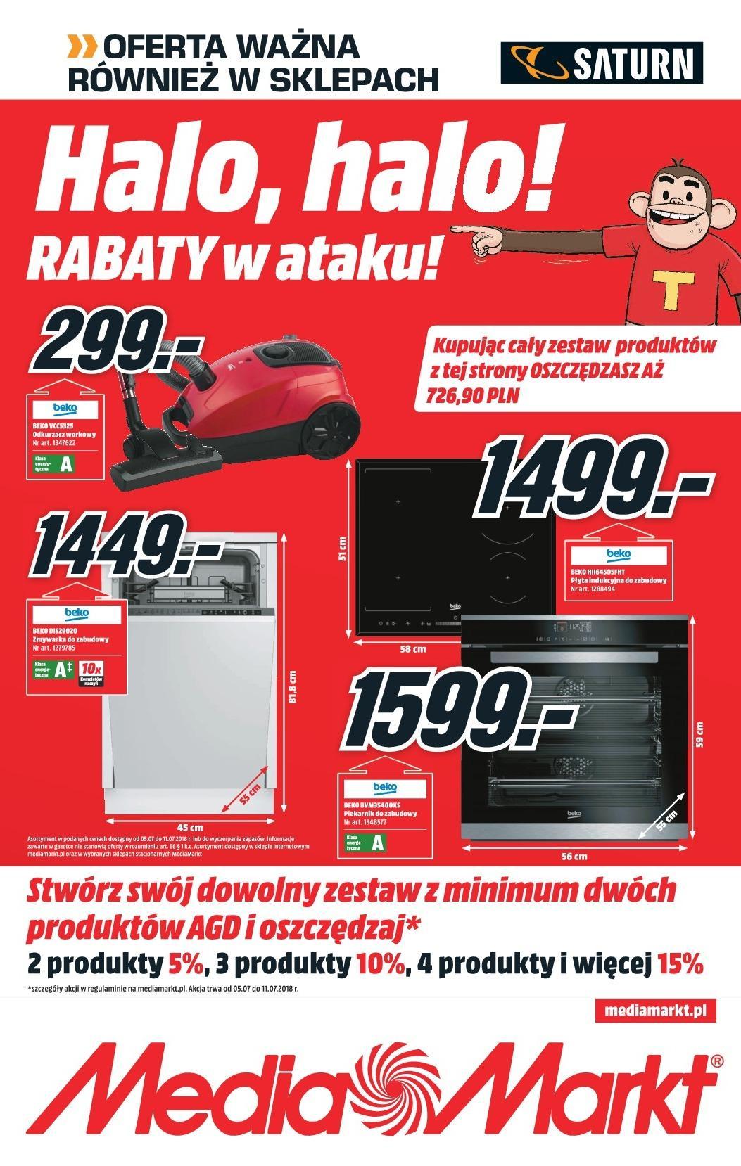 Gazetka promocyjna Media Markt do 11/07/2018 str.0