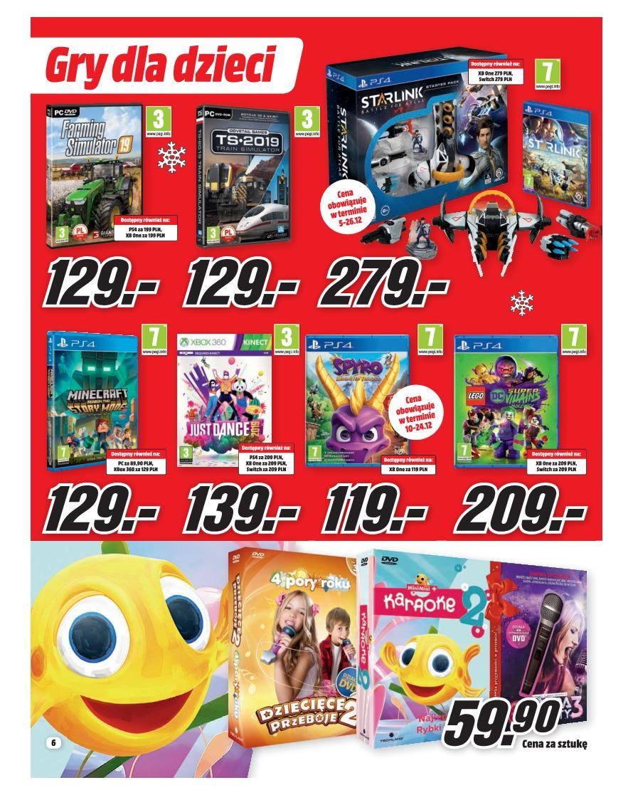 Gazetka promocyjna Media Markt do 31/12/2018 str.6